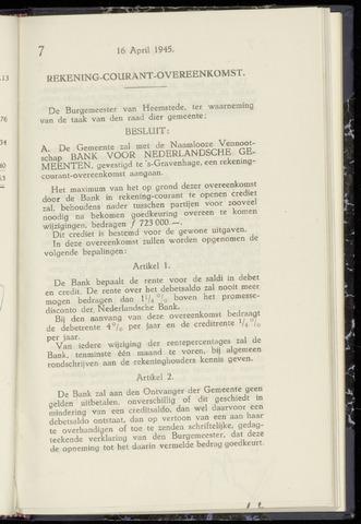 Raadsnotulen Heemstede 1945-04-16