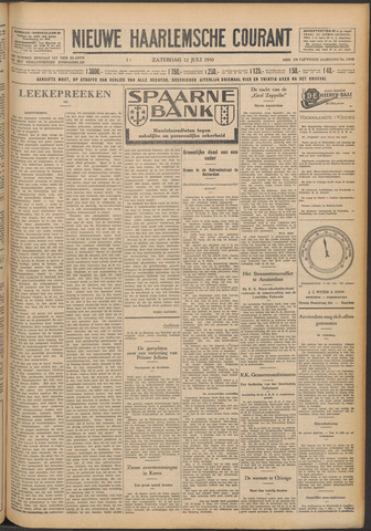 Nieuwe Haarlemsche Courant 1930-07-12