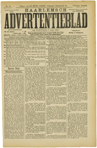 Haarlemsch Advertentieblad 1898-04-06