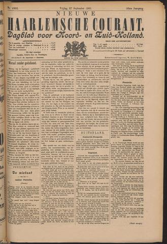 Nieuwe Haarlemsche Courant 1901-09-27