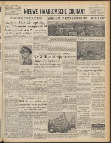 Nieuwe Haarlemsche Courant 1954-03-09
