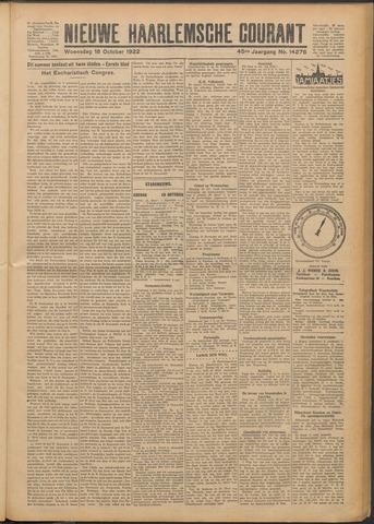 Nieuwe Haarlemsche Courant 1922-10-18