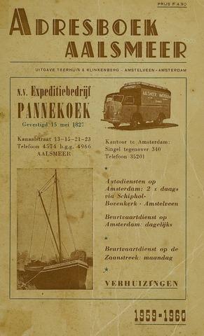 Adresboeken Aalsmeer 1959
