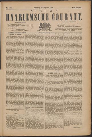 Nieuwe Haarlemsche Courant 1886-08-26