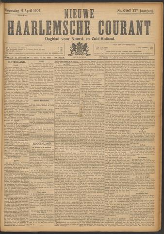 Nieuwe Haarlemsche Courant 1907-04-17