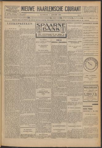 Nieuwe Haarlemsche Courant 1930-01-11