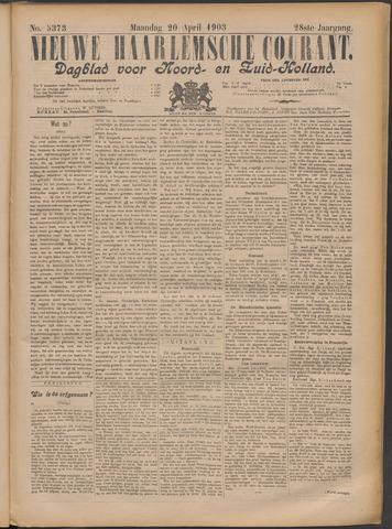 Nieuwe Haarlemsche Courant 1903-04-20