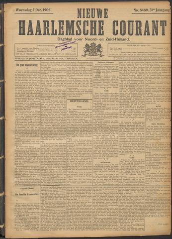 Nieuwe Haarlemsche Courant 1906-12-05