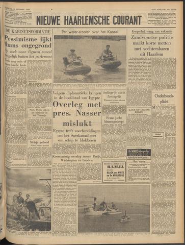 Nieuwe Haarlemsche Courant 1956-09-08