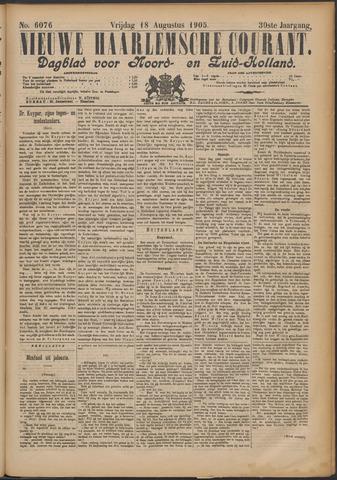 Nieuwe Haarlemsche Courant 1905-08-18