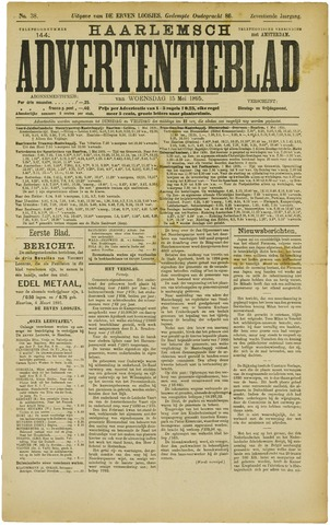 Haarlemsch Advertentieblad 1895-05-15