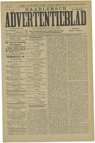 Haarlemsch Advertentieblad 1900-10-20