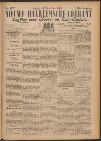 Nieuwe Haarlemsche Courant 1902-11-28