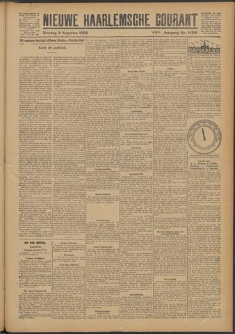 Nieuwe Haarlemsche Courant 1922-08-08