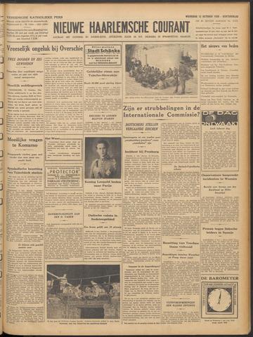 Nieuwe Haarlemsche Courant 1938-10-12