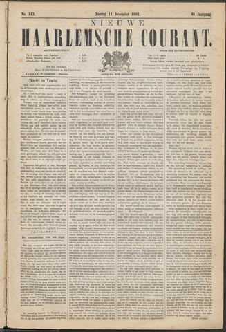 Nieuwe Haarlemsche Courant 1881-12-11