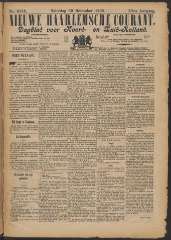 Nieuwe Haarlemsche Courant 1905-12-30