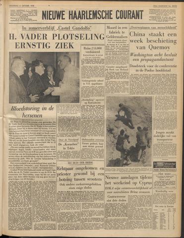 Nieuwe Haarlemsche Courant 1958-10-06
