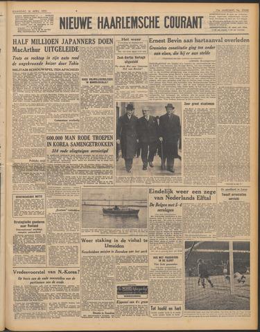Nieuwe Haarlemsche Courant 1951-04-16