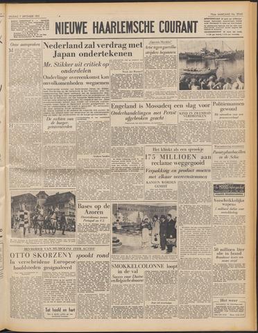 Nieuwe Haarlemsche Courant 1951-09-07