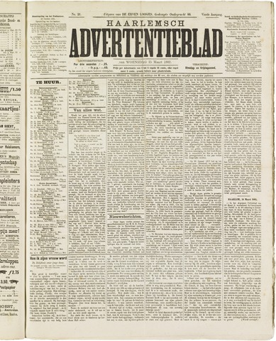 Haarlemsch Advertentieblad 1882-03-15