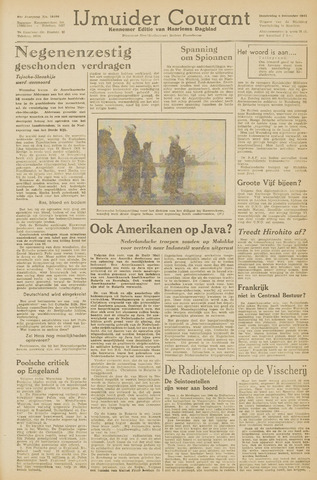 IJmuider Courant 1945-12-06