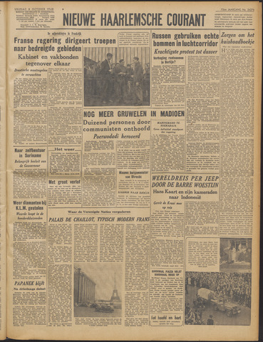 Nieuwe Haarlemsche Courant 1948-10-08