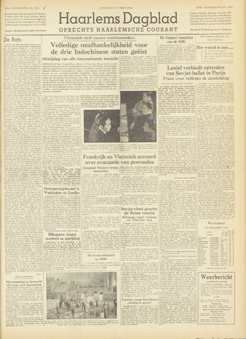 Haarlem's Dagblad 1954-05-11