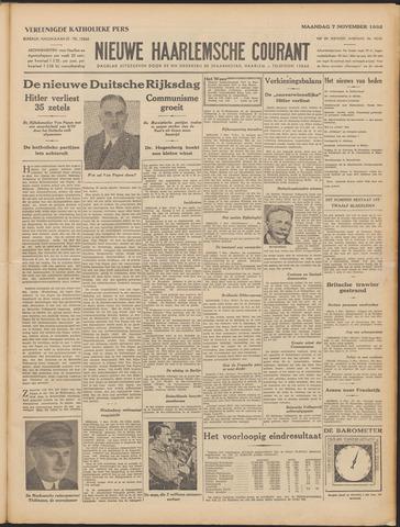 Nieuwe Haarlemsche Courant 1932-11-07