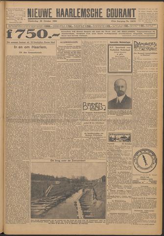 Nieuwe Haarlemsche Courant 1924-10-30