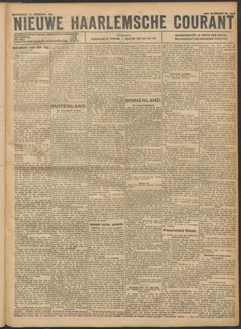 Nieuwe Haarlemsche Courant 1921-02-17