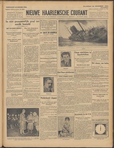 Nieuwe Haarlemsche Courant 1934-12-24