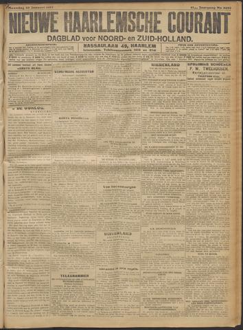 Nieuwe Haarlemsche Courant 1917-01-22