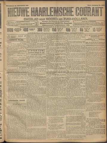Nieuwe Haarlemsche Courant 1913-11-26