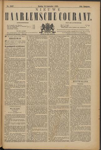 Nieuwe Haarlemsche Courant 1893-09-24