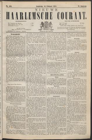 Nieuwe Haarlemsche Courant 1881-02-10