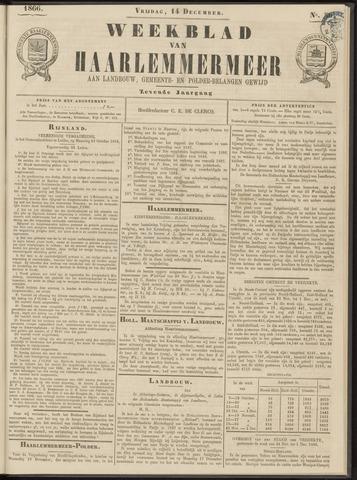 Weekblad van Haarlemmermeer 1866-12-14