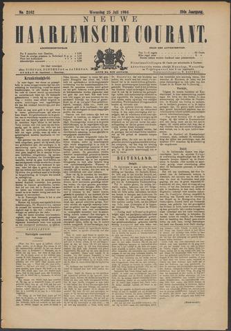 Nieuwe Haarlemsche Courant 1894-07-25