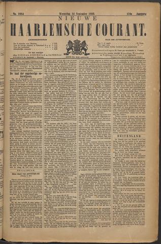 Nieuwe Haarlemsche Courant 1892-09-14