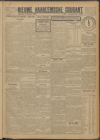 Nieuwe Haarlemsche Courant 1923-10-08