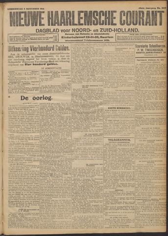 Nieuwe Haarlemsche Courant 1914-11-05