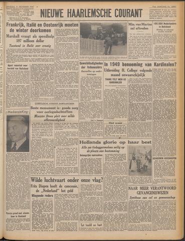 Nieuwe Haarlemsche Courant 1947-11-11
