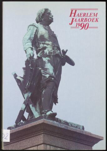 Jaarverslagen en Jaarboeken Vereniging Haerlem 1990