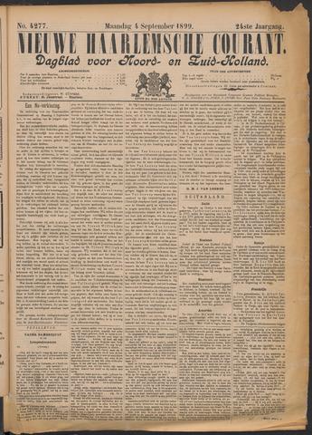 Nieuwe Haarlemsche Courant 1899-09-04