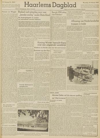 Haarlem's Dagblad 1947-02-12