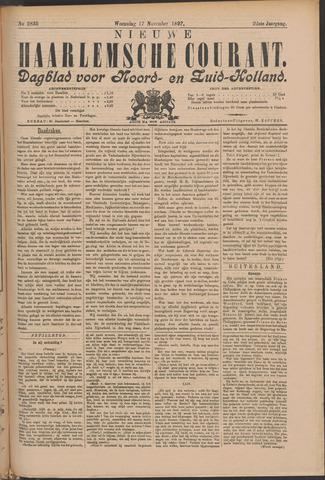 Nieuwe Haarlemsche Courant 1897-11-17