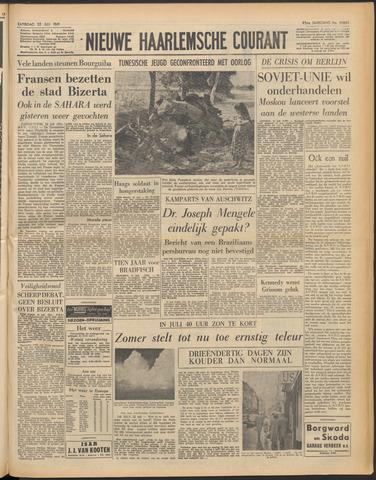 Nieuwe Haarlemsche Courant 1961-07-22