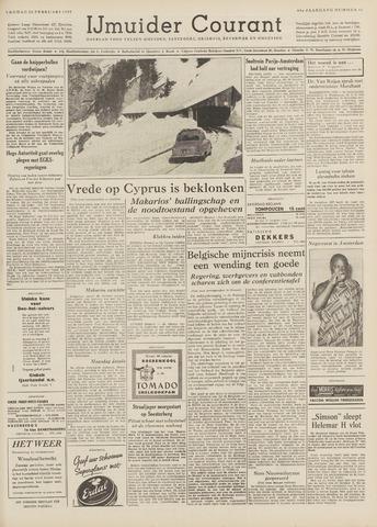 IJmuider Courant 1959-02-20