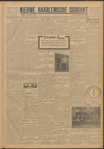 Nieuwe Haarlemsche Courant 1924-09-05