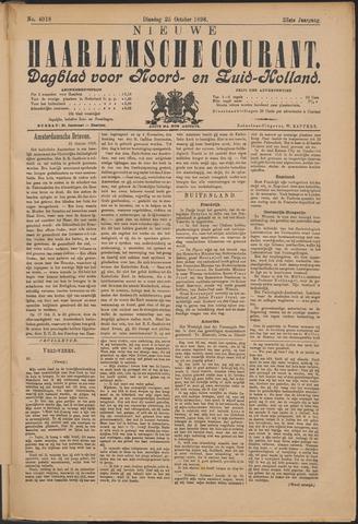 Nieuwe Haarlemsche Courant 1898-10-25